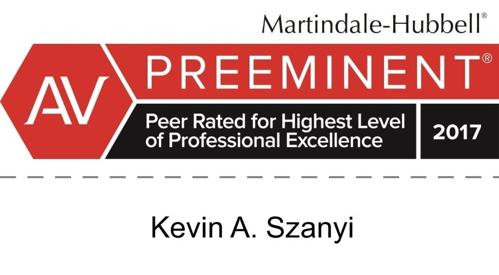 Kevin A. Szanyi AV Rating