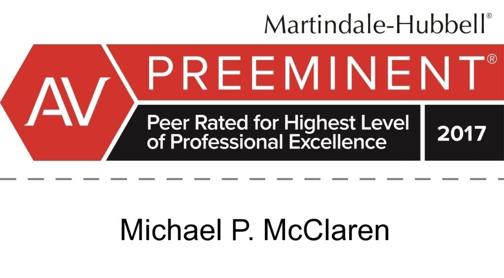 Michael P. McClaren AV Rating
