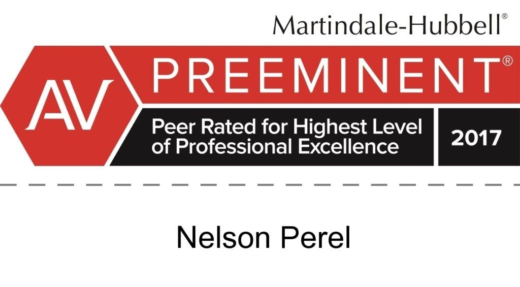 Nelson Perel AV Rating