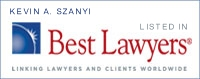 Kevin Szanyi Best Lawyers